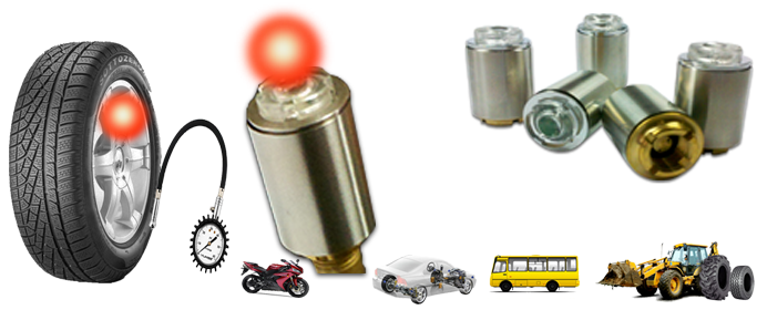 TMPS,tyre pressure alarm LED